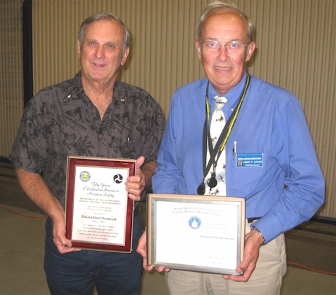 Ed Chromczak Receives Wright Brothers Award